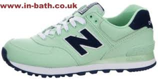 new balance old school. 100% service old school new balance women 574 (pique polo) running shoes mint