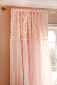 peach curtains for bedroom.  For Peach Ruffled Ruched Luxury Embroidery Lace Shabby By LovelyDecor On Curtains For Bedroom