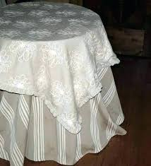 french country tablecloths laundry tabletop round print round fig red green tablecloth by nature country