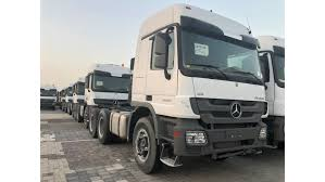Click request price for more information. Mercedes Benz Actros 3850 Tractor Head V8 100 Tons For Sale White 2018