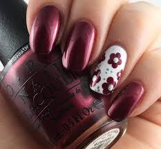 Teal Flower Nail Design Flower Nail Art Ideas Design Trends ...