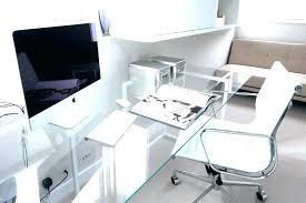 office glass desks. Glass Desk Office Desks  Astonishing Intended .