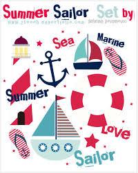 夏といえば海かわいいマリンベクターデータ10選 オリジナルtシャツ