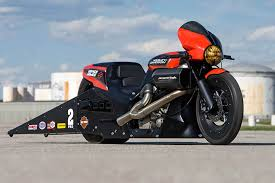 new harley street rod drag bikes ready to race at englishtown
