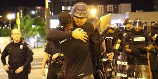 FreeHugs Black Man Embraces Charlotte Police Exposes Hatred Of.