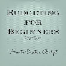 Gingerly Made: Budgeting for Beginners: Part Two | Budgeting, Budget help,  Budgeting finances