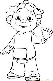 Small Picture Sid Coloring Page Free Sid the Science Kid Coloring Pages