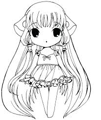 Hair Coloring Pages Girls Coloring Pages The Toilet Paper Girl Anime