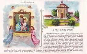 Výsledek obrázku pro kostelní vydří pouť