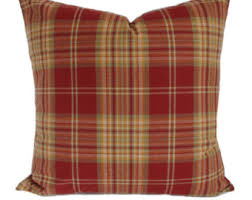plaid decorative pillows. Fine Pillows Plaid Pillow Cover Throw Pillow Red Decorative Accent  Sofa Couch Christmas 6 Sizes Available In Decorative Pillows C