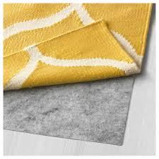 Ikea Rugs Stockholm Rug Flatwoven Handmade Net Pattern Yellow 170x240 Cm Ikea