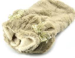 puppy dog coats cute soft plush warm winter dog hoo small dog clothes light brown