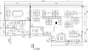 floor plan simple autocad 2d drawing
