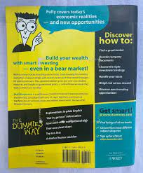 Stock Investing for Dummies by Paul Mladjenovic (2006, Perfect, Revised  edition) for sale online