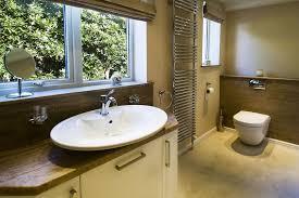 bathroom vanity top in sandstone with a top mounted sink