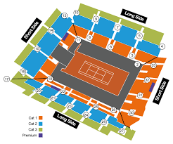 Philippe Chatrier Seating Chart Sports Events 365 1st Round Court Philippe Chatrier 26