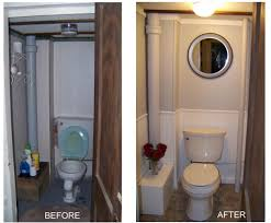 basement bathroom before and after. small basement bathroom before and after o