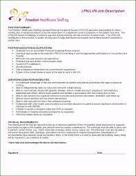 Lvn Resume Sample Impressive New Graduate Licensed Practical Nurse