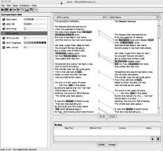 a companion to digital literary studies figure 6 2 screen shot of juxta a side by side comparison of the text of rossetti s blessed damozel from the 1870 poems 1st edn and from the 1850 germ