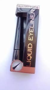 makeup revolution london amazing waterproof black liquid eyeliner