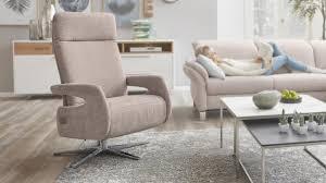 Interliving Sessel Serie 4510 Relaxsessel Rosa Bezug Vintage Sternfuß