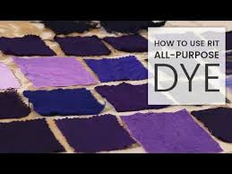 Rit Color Chart How To Dye Fabric Rit All Purpose Dye