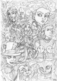 Small Picture red and black tim burtons alice in wonderland Google Search