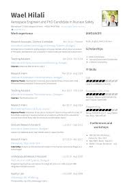 Resume Model For Experience Candidate Research Associate Resume Samples And Templates Visualcv