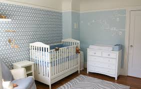 View in gallery David Hicks Hexagon wallpaper adds sensational style to the  nursery [Design: Lucy McLintic]