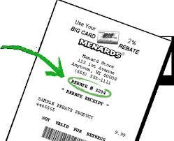 menards gift registry inspirational menards rebate forms
