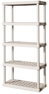 sterilite 5 shelf shelving unit 73 25 x 36 x 18