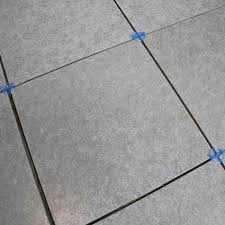 tiles with spacers continue laying