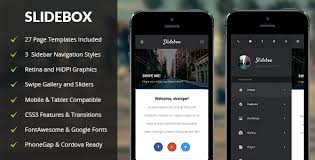 Phonegap Html Mobile Website Templates From Themeforest
