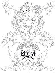 Kleurplaten En Zo Kleurplaten Van Elena Van Avalor