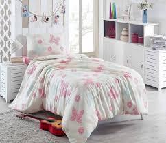 eponj home papillon white and pink single size 135 x 200 cm quilt cover set 2 pieces souq uae