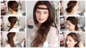 7 Peinados Para Cada D A F Ciles Y R Pidos Boho Chic Youtube