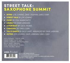 Saxophone Summit Seraphic Light Saxophone Summit Street Talk