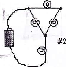 a identify which of the nice neat circuit diagr com b which neat circuit diagram corresponds to messy circuit drawing 2 explain the reasons for your answer from all you nice cheggers 1 seems to be