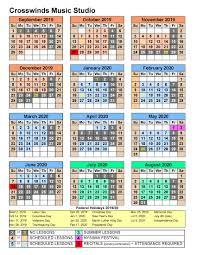 30 Day Calendar 2020