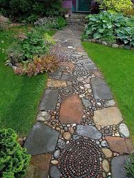 40 brilliant ideas for stone pathways