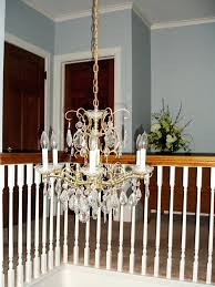 how to paint a chandelier without taking it down wed actually started looking for a replacement how to paint a chandelier