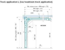 Low Headroom Garage Door Track Wildatheartnutrition Com