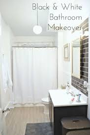 classic white bathroom ideas. Modren Classic Before After Classic Black White Bathroom Reveal Ideas Small  Ideas Intended Classic White Bathroom Ideas T