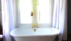 clawfoot bathtub shower bathtub shower attractive claw foot tub interior designs in clawfoot tub shower kit