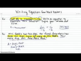 translating word problems into equations jennarocca