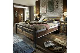 reclaimed wood super king size bed photo 1
