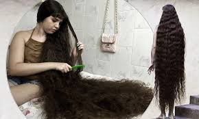 longest hair in the world cute