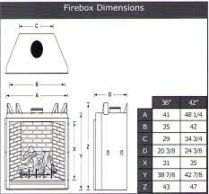 gas fireplace dimensions standard fireplace standard gas fireplace insert size