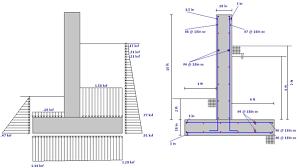 Small Picture Concrete Retaining Wall Design Example Home Design Ideas