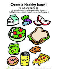 Diet Chart For Students Lets Eat Healthy Lesson Plan Education Com Lesson